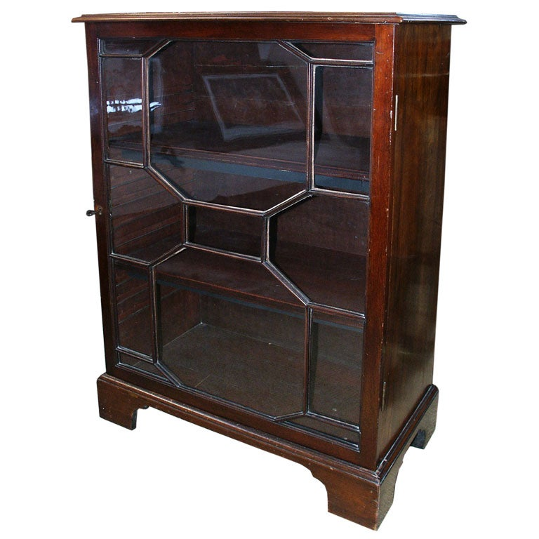 George Lll Style19th C Bookcase With Antique Elements At