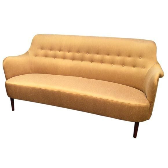 Samsas sofa by carl malmsten at 1stdibs Carl malmsten sofa