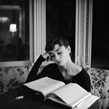 Editioned Audrey Hepburn Portrait by Mark Shaw #35, L.A. 1953