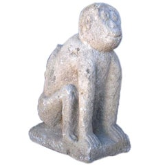 Hand Carved Stone Monkey