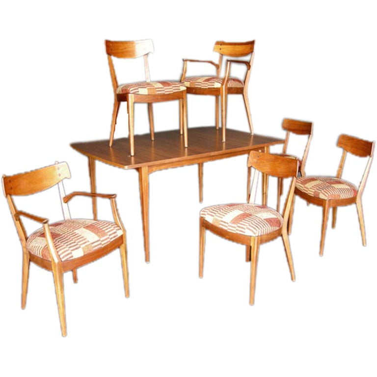 mid century drexel declaration dining set at 1stdibs