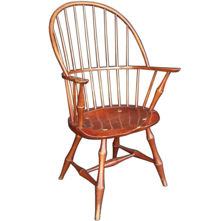 Early 20th Century Windsor Style Chair At 1stdibs