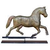 Antique Trotting Horse Weather Vane