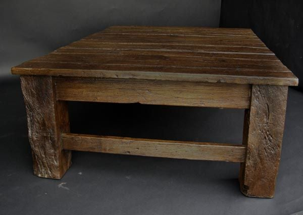 Guatemalan Reclaimed Tropical Wood Coffee Table For