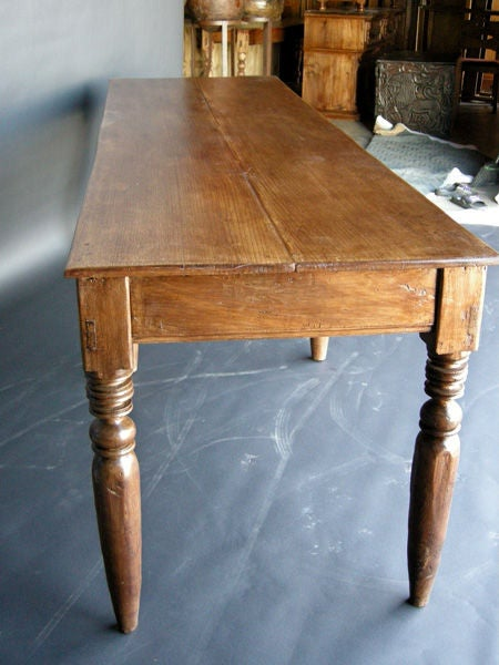 Antique Table With Six Legs At 1stdibs