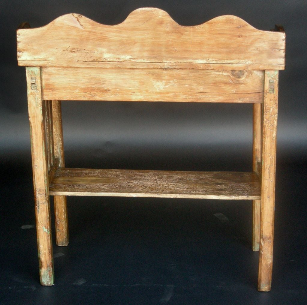 stunning antique white wash furniture | Antique Wooden Wash stand at 1stdibs