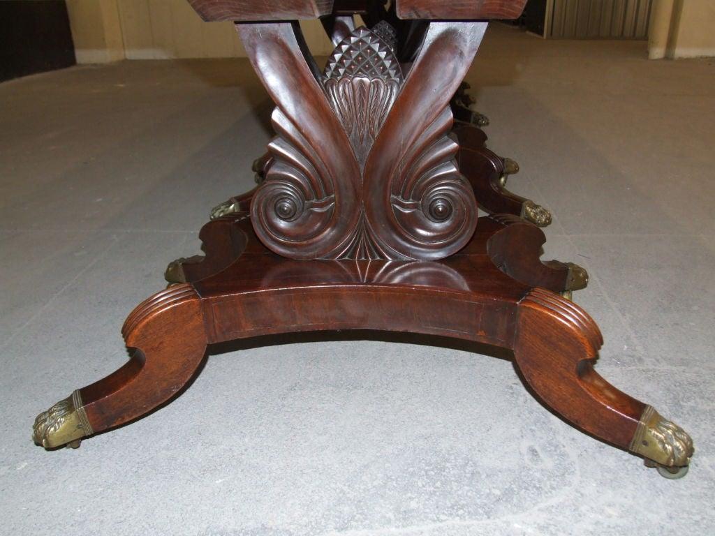 Impressive Neoclassical Four Pedestal Banquet Table 6