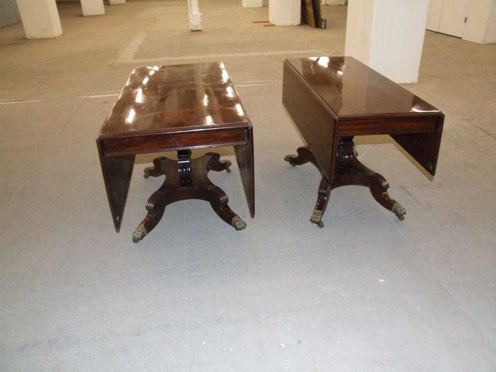 Impressive Neoclassical Four Pedestal Banquet Table 9