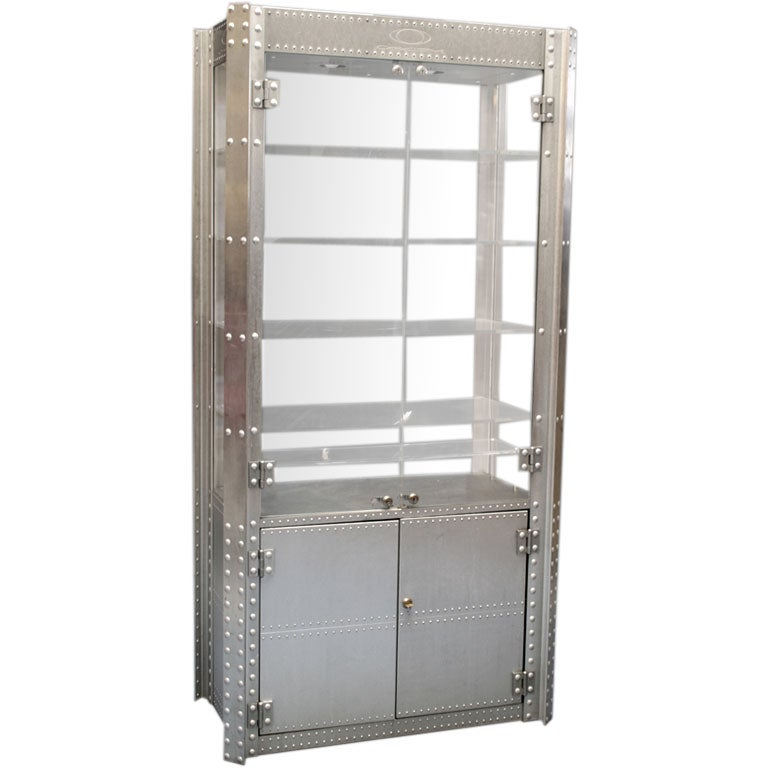 Oakley Machine Aesthetic Display Cabinet At 1stdibs