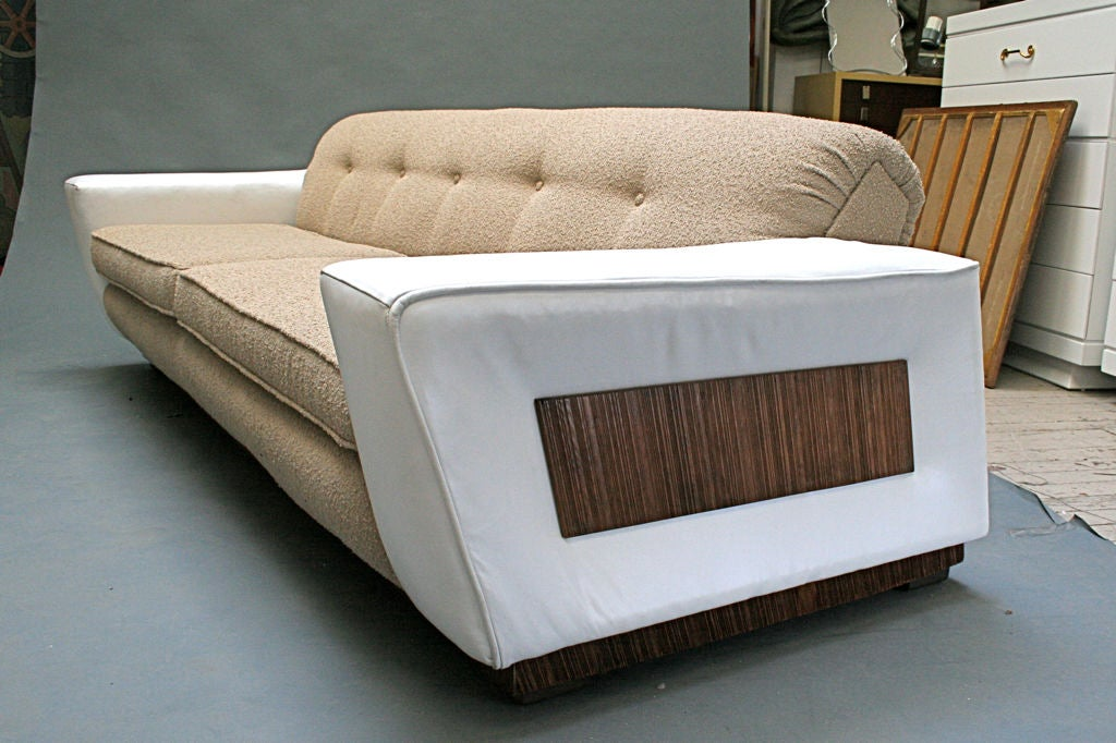 Paul Frankl Sofa ~ Paul frankl speed sofa at stdibs
