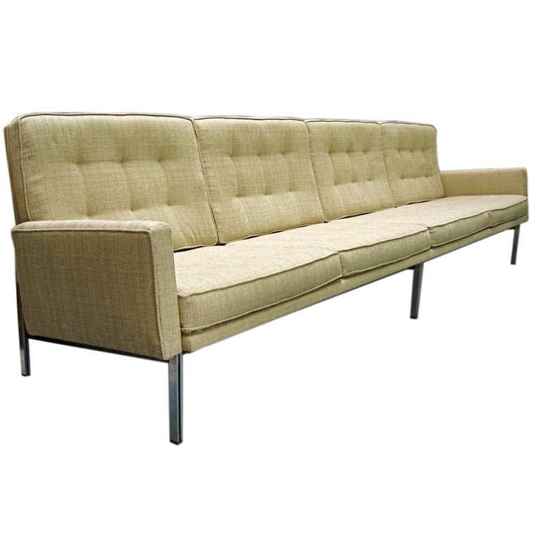 Florence knoll parallel bar sofa at 1stdibs - Florence knoll sofa gebraucht ...