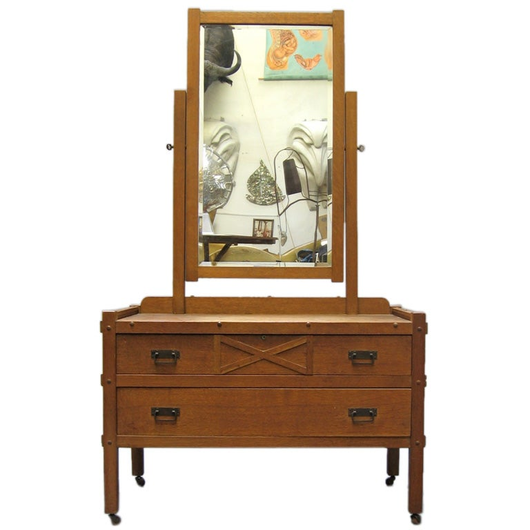 Craftsman Style Lowboy By Compact Furniture At 1stdibs