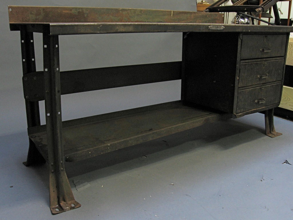 Work Station By Standard Pressed Steel Co At 1stdibs