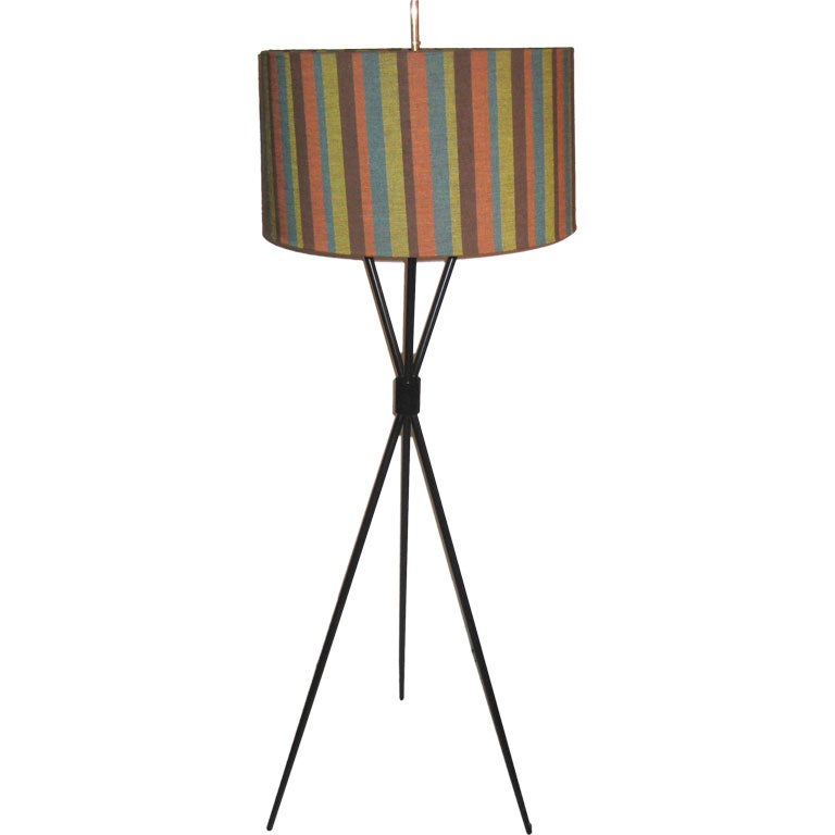 Robsjohn-Gibbings Tripod Floor lamp for Hansen Lighting