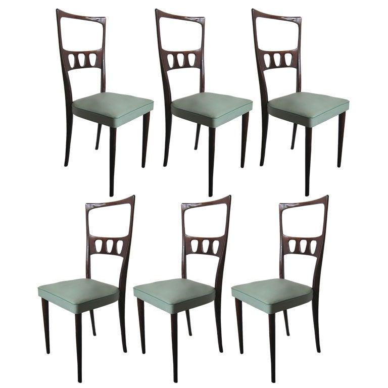 Set of Six Italian Dining Chairs at 1stdibs : px6orgitaliandiningchairs from www.1stdibs.com size 768 x 768 jpeg 48kB