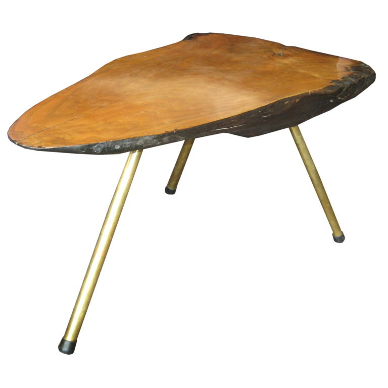 Carl Aubock Tree Trunk Coffee Table
