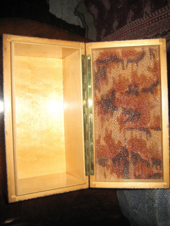 Mid-20th Century French Art Deco Shagreen Box