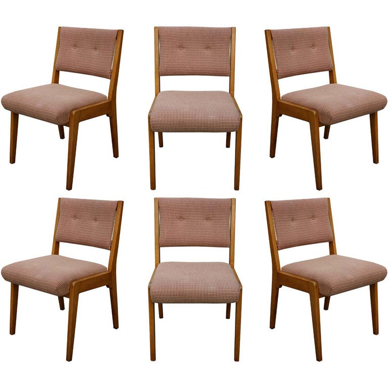 Jens risom dining chairs at 1stdibs - Jens risom dining chairs ...