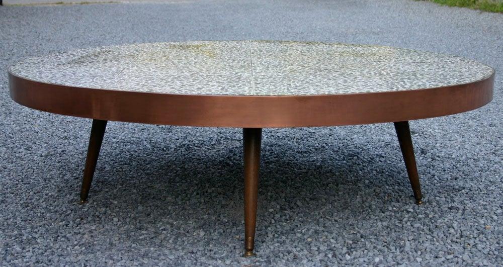 terrazo tile coffee table at 1stdibs
