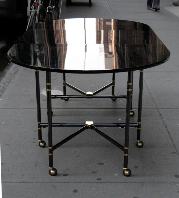 French Royal Dining Table by Maison Jansen For Sale