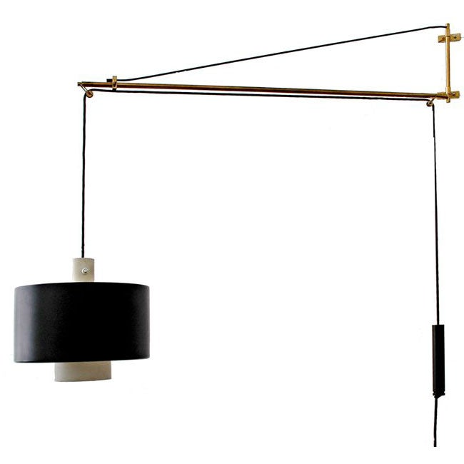 Articulated Wall Mounted Lamp Scolari for Stilnovo at 1stdibs
