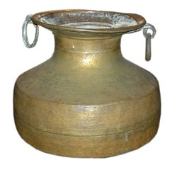 Large-Scale Brass Urn