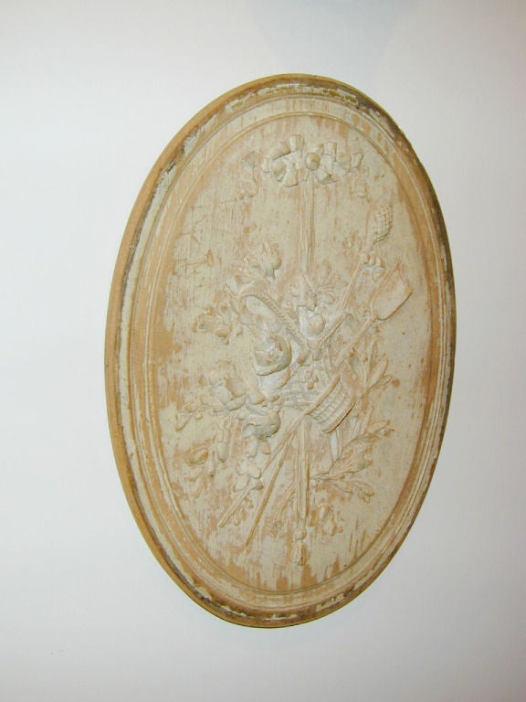 French 18th century Boiserie Roundel For Sale