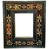 Tortoiseshell and Mother of Pearl Frame