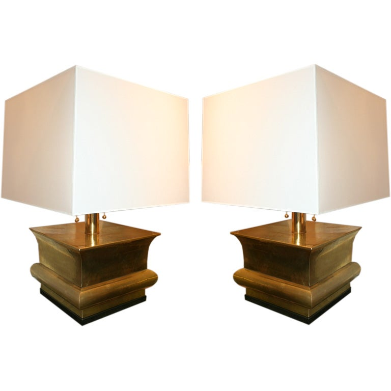 Pair of Classical Modern Table Lamps