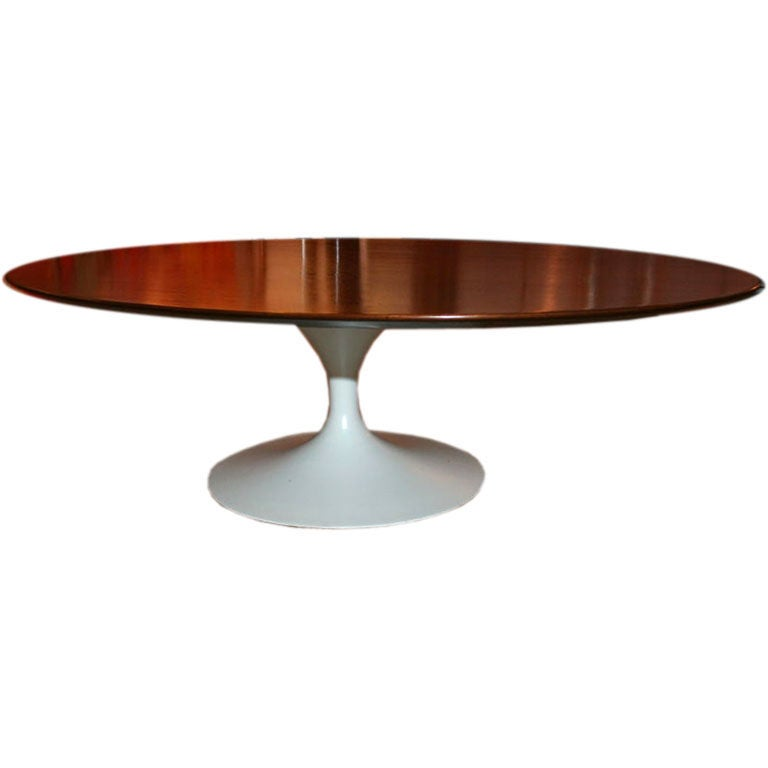 Oval Cocktail Table By Eero Saarinen For Knoll At 1stdibs