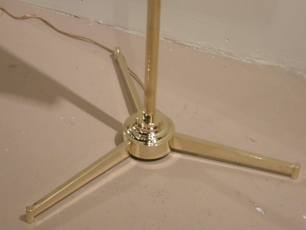 Easel Floor Lamp After Gino Sarfatti At 1stdibs