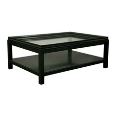 Evergreen Rectangular Cocktail Table by James Mont