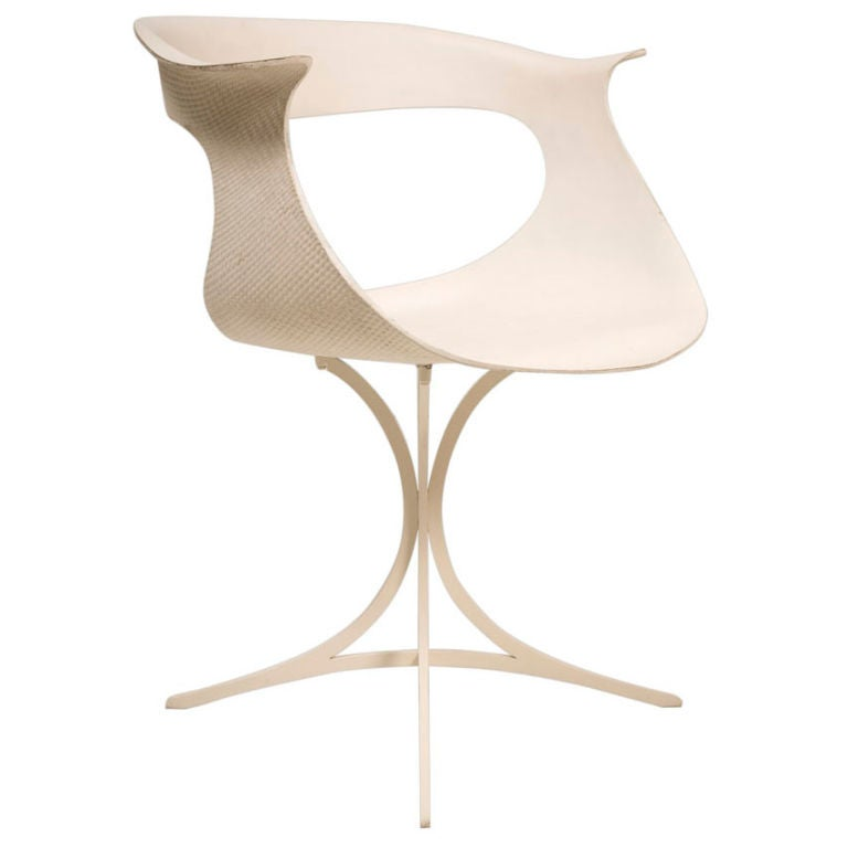 "Mod ""Lotus"" Armchair by Erwine and Estelle Laverne For Sale"