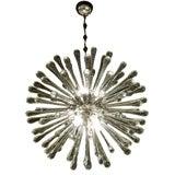 Italian Crystal Dandelion Chandelier