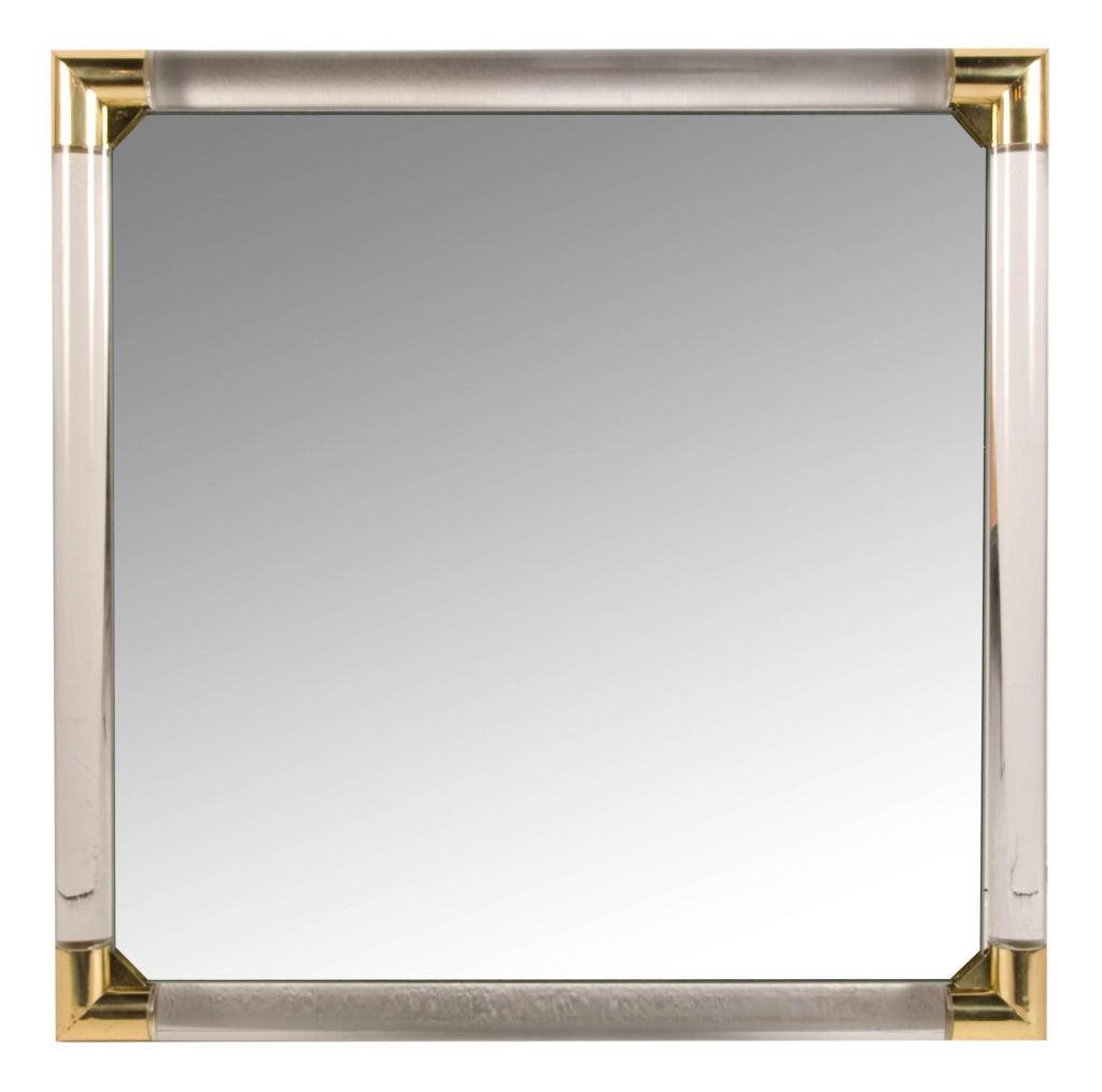 Vanity mirror frame