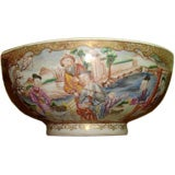 Very Fine China Trade Porcelain Bowl, Pair Available