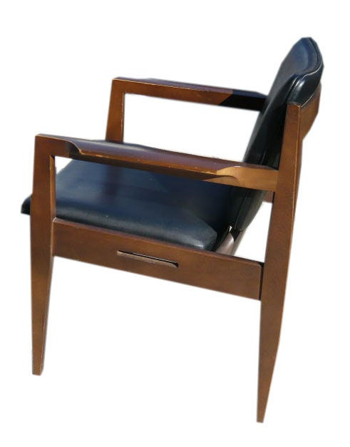 this walnut desk chair is no longer available