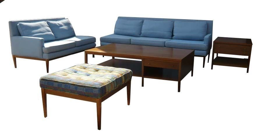 Paul mccobb 5 piece living room set for directional ca for 5 piece living room furniture