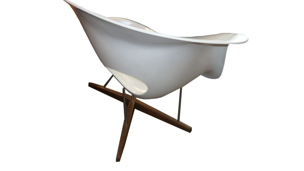 Prix Chaise Eames Vitra Of Charles Eames La Chaise Lounge Chair By Vitra At 1stdibs