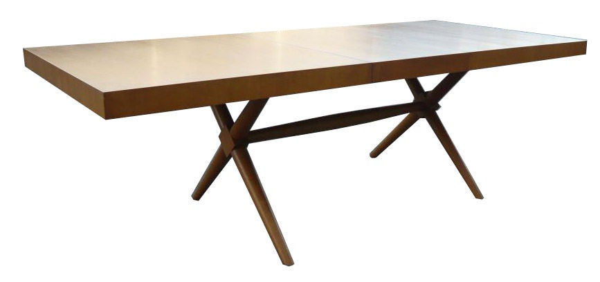 Robsjohn Gibbings X Base Dining Table Image 6