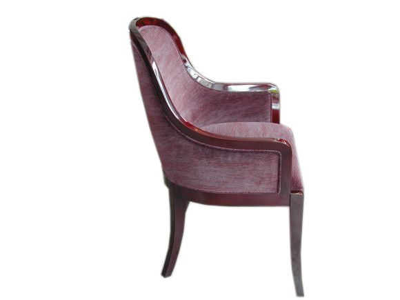 Regina dining chairs at stdibs