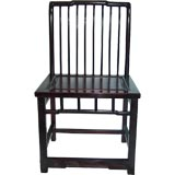 Pair, Antique Chinese Hardwood  Chairs