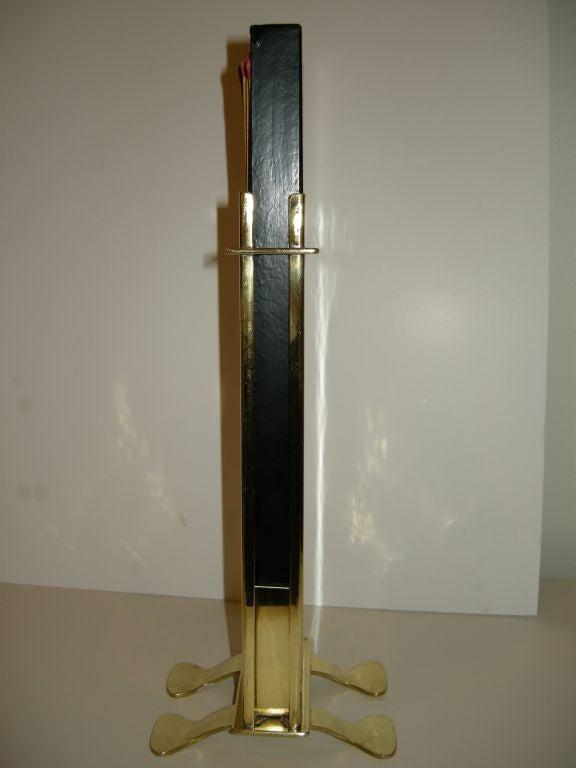 Rare Dirk Van Erp 1859 1933 Hammered Brass Match Holder