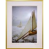 Ice Sailing On The Great South Bay Long Island NY (1986)