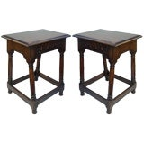Pair of Antique English Tavern Tables