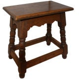 Antique English Tavern Stool/Table