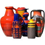 Wonderful Collection of  West & East German Pottery