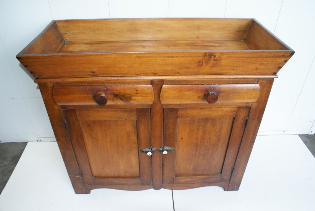 Dry Sink : Antique American Pine Dry Sink/Cabinet at 1stdibs