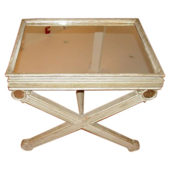 Mirrored Tray For Coffee Table: Charming French Mirrored Tray Table At 1stdibs
