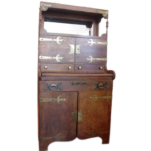Small Narrow Art Room Living Room Design: Narrow Arts And Crafts Cabinet